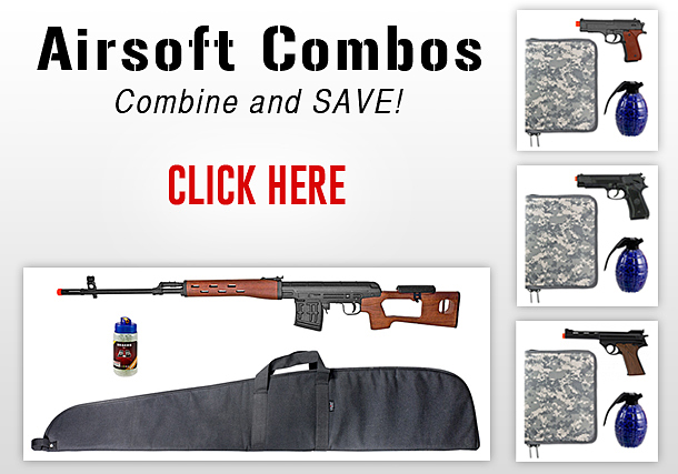NEW Airsoft Combos!