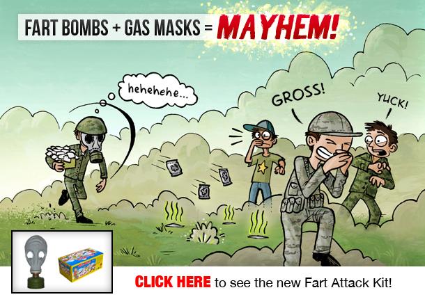 NEW Fart Attack Kit!