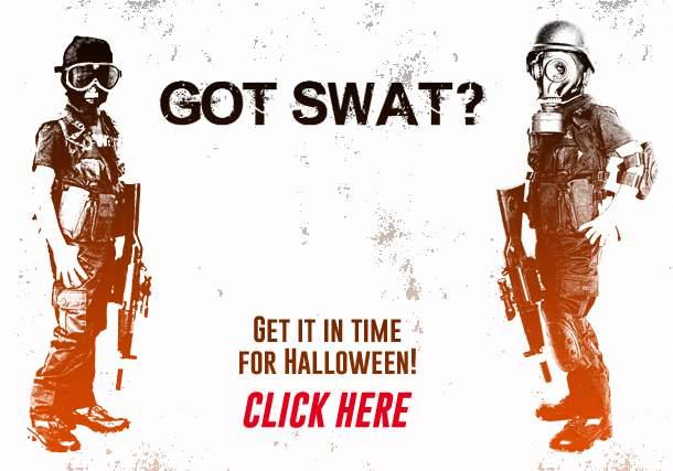 Halloween Swat Costume