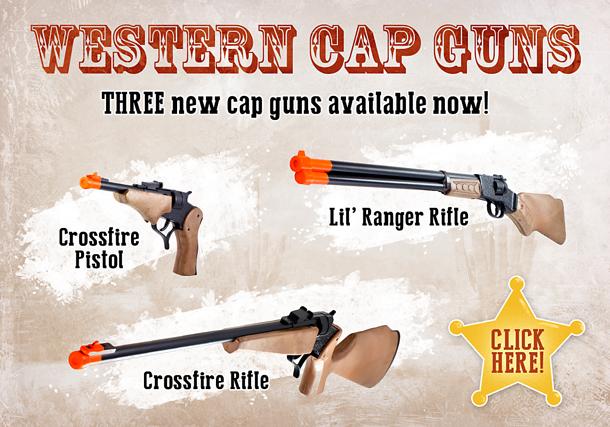 NEW Cap Guns!