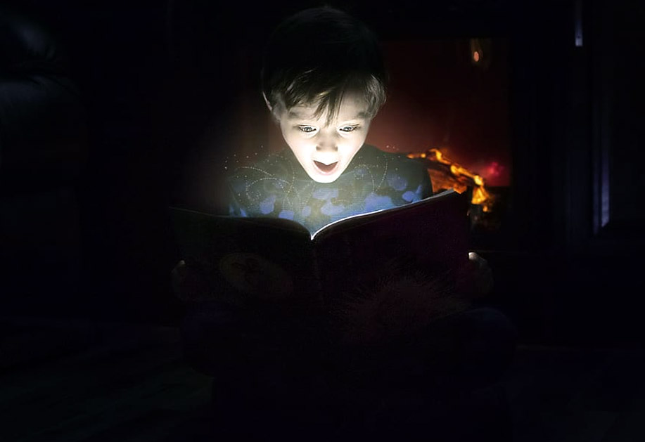 Reading Terror Tales with Kids at Home