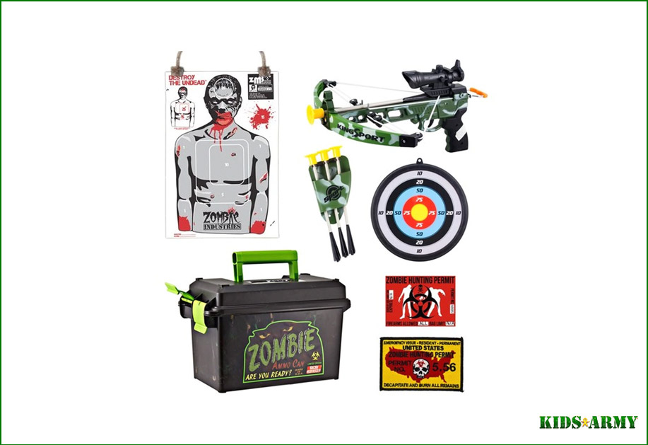 Kids Army Zombie Survival Toys